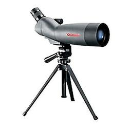 Tasco  Spotting Scope 20-60x60mm, Gray/Black Porro Prism, 45