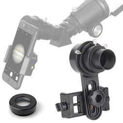 Telescope Cell Phone Adapter Mount Only Applicable with 1.25