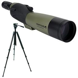 Celestron Ultima 80mm Spotting Scope w/20-60x Wide Angle Eye