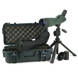 Hawke Optics Vantage Spotting Scope W/Tripod & Case 20-60X60