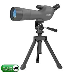Waterproof Angled Spotting Scope with Tripod for Target Shoo