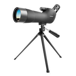 ENKEEO Waterproof Spotting Scope 20-60X60AE with Tripod, 45-